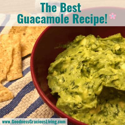 The Best Guacamole Recipe*: Naturally Gluten-Free