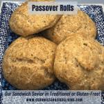 passover rolls square
