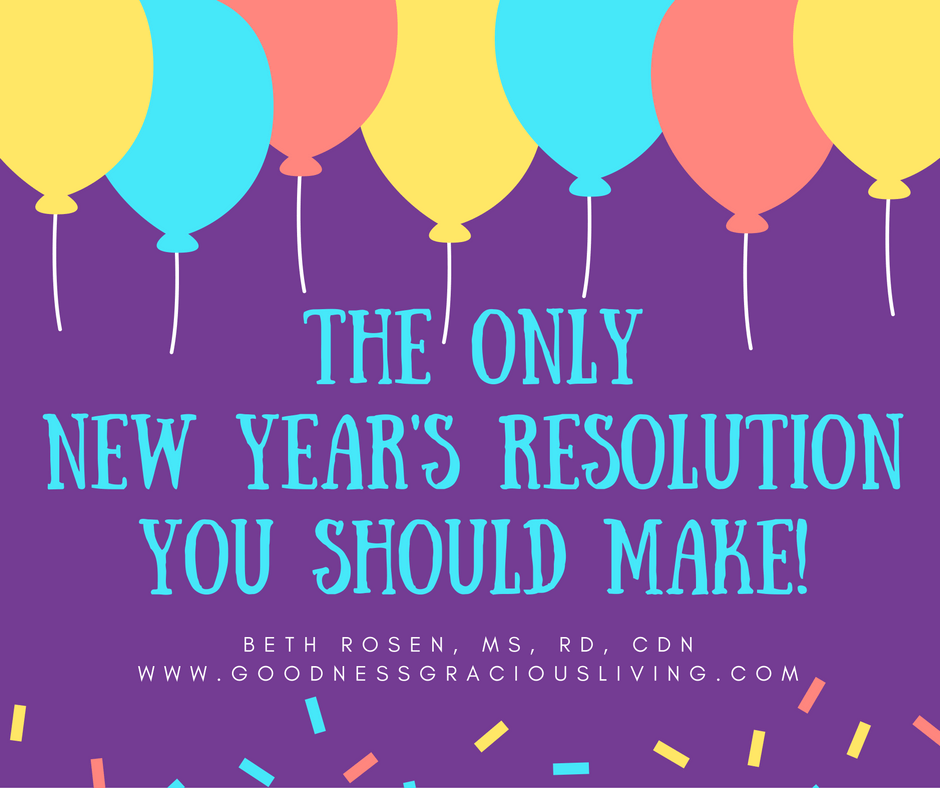 The Only New Year's Resolution You Should Make!